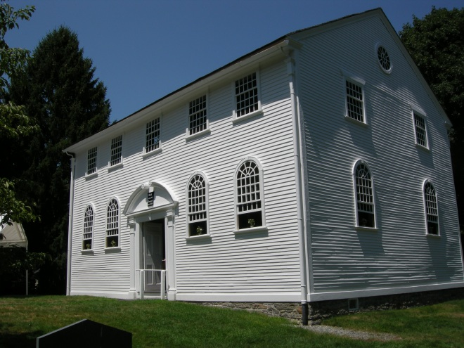 Old Narragansett Church, 1707
